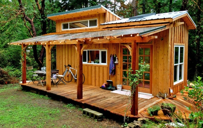 Tiny House captures Creative Spirit of Salt Spring Island, Gulf Islands, British Columbia