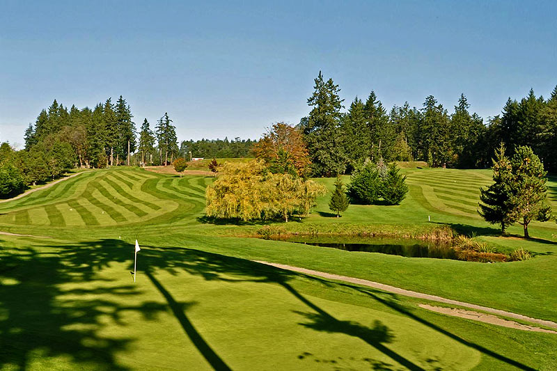 Salt Spring Island Golf & Country Club, Ganges, Salt Spring Island, Gulf Islands, British Columbia